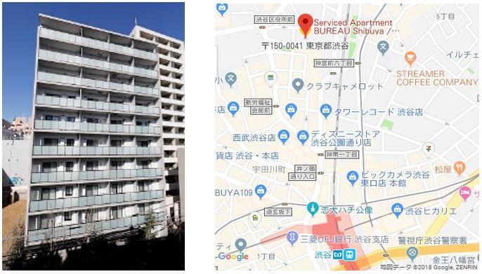 BUREAU渋谷_map